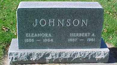 JOHNSON, HERBERT A. - Dixon County, Nebraska | HERBERT A. JOHNSON - Nebraska Gravestone Photos