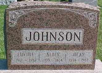 JOHNSON, ALBIN - Dixon County, Nebraska | ALBIN JOHNSON - Nebraska Gravestone Photos
