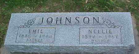 JOHNSON, NELLIE - Dixon County, Nebraska | NELLIE JOHNSON - Nebraska Gravestone Photos