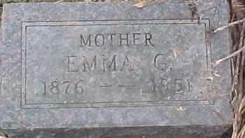 JOHNSON, EMMA G. - Dixon County, Nebraska | EMMA G. JOHNSON - Nebraska Gravestone Photos