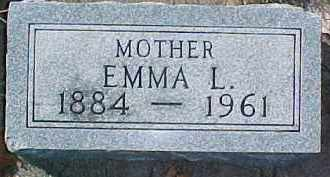 JOHNSON, EMMA L. - Dixon County, Nebraska | EMMA L. JOHNSON - Nebraska Gravestone Photos