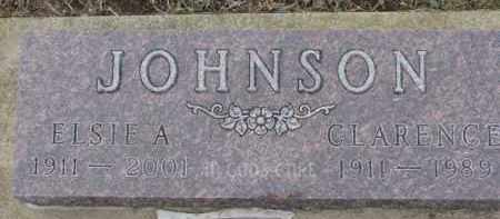 JOHNSON, CLARENCE - Dixon County, Nebraska | CLARENCE JOHNSON - Nebraska Gravestone Photos