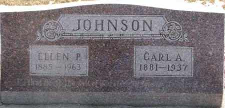 JOHNSON, ELLEN P. - Dixon County, Nebraska | ELLEN P. JOHNSON - Nebraska Gravestone Photos