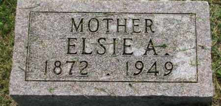 JOHNSON, ELSIE A. - Dixon County, Nebraska | ELSIE A. JOHNSON - Nebraska Gravestone Photos
