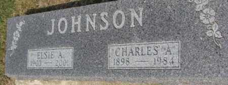 JOHNSON, CHARLES A. - Dixon County, Nebraska | CHARLES A. JOHNSON - Nebraska Gravestone Photos
