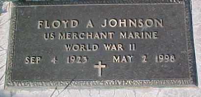 JOHNSON, FLOYD A. (WW II MARKER) - Dixon County, Nebraska | FLOYD A. (WW II MARKER) JOHNSON - Nebraska Gravestone Photos