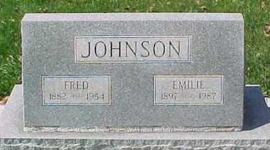 JOHNSON, EMILIE - Dixon County, Nebraska | EMILIE JOHNSON - Nebraska Gravestone Photos