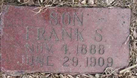 JOHNSON, FRANK S. - Dixon County, Nebraska   FRANK S. JOHNSON - Nebraska Gravestone Photos