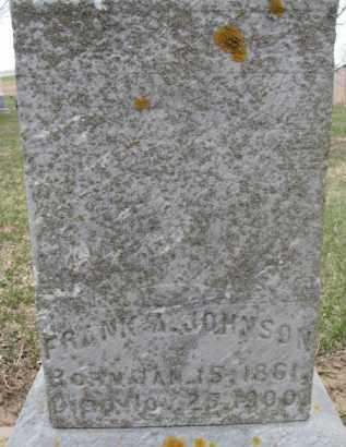 JOHNSON, FRANK A. - Dixon County, Nebraska   FRANK A. JOHNSON - Nebraska Gravestone Photos