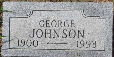 JOHNSON, GEORGE - Dixon County, Nebraska | GEORGE JOHNSON - Nebraska Gravestone Photos