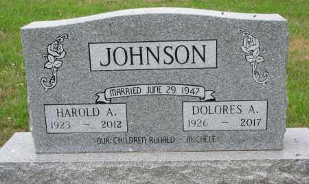 JOHNSON, HAROLD A. - Dixon County, Nebraska | HAROLD A. JOHNSON - Nebraska Gravestone Photos