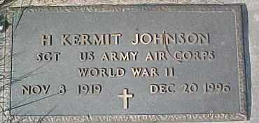 JOHNSON, H. KERMIT - Dixon County, Nebraska | H. KERMIT JOHNSON - Nebraska Gravestone Photos