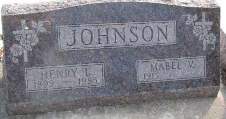JOHNSON, HENRY L. - Dixon County, Nebraska | HENRY L. JOHNSON - Nebraska Gravestone Photos