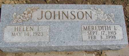 JOHNSON, HELEN I. - Dixon County, Nebraska | HELEN I. JOHNSON - Nebraska Gravestone Photos