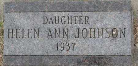JOHNSON, HELEN ANN - Dixon County, Nebraska | HELEN ANN JOHNSON - Nebraska Gravestone Photos