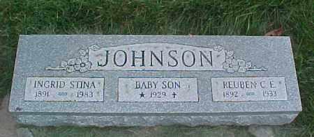 JOHNSON, INGRID STINA - Dixon County, Nebraska   INGRID STINA JOHNSON - Nebraska Gravestone Photos