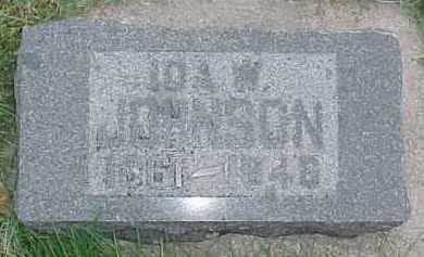 JOHNSON, IDA W. - Dixon County, Nebraska | IDA W. JOHNSON - Nebraska Gravestone Photos