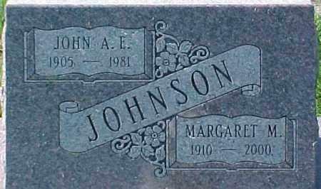 JOHNSON, JOHN A. E. - Dixon County, Nebraska   JOHN A. E. JOHNSON - Nebraska Gravestone Photos