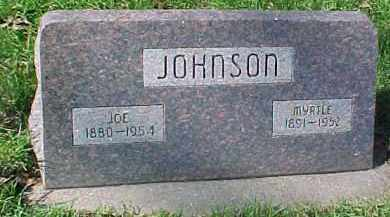 JOHNSON, JOE H.W. - Dixon County, Nebraska | JOE H.W. JOHNSON - Nebraska Gravestone Photos