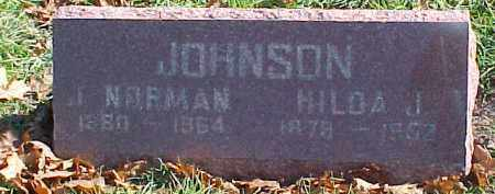 JOHNSON, HILDA J. - Dixon County, Nebraska   HILDA J. JOHNSON - Nebraska Gravestone Photos
