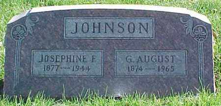 JOHNSON, G. AUGUST - Dixon County, Nebraska | G. AUGUST JOHNSON - Nebraska Gravestone Photos