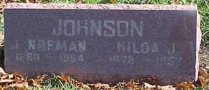 JOHNSON, JOHN NORMAN - Dixon County, Nebraska | JOHN NORMAN JOHNSON - Nebraska Gravestone Photos