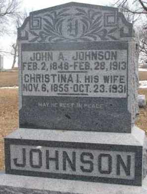 JOHNSON, CHRISTINA INGRID - Dixon County, Nebraska   CHRISTINA INGRID JOHNSON - Nebraska Gravestone Photos