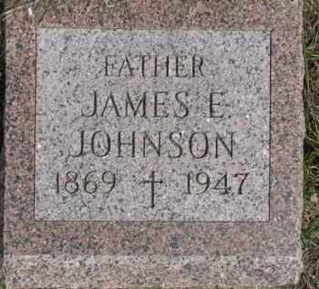 JOHNSON, JAMES E. - Dixon County, Nebraska | JAMES E. JOHNSON - Nebraska Gravestone Photos
