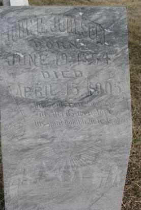 JOHNSON, JOHN H. - Dixon County, Nebraska   JOHN H. JOHNSON - Nebraska Gravestone Photos