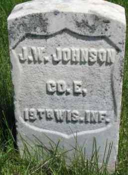 JOHNSON, J.W. - Dixon County, Nebraska | J.W. JOHNSON - Nebraska Gravestone Photos