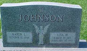 JOHNSON, KAREN - Dixon County, Nebraska | KAREN JOHNSON - Nebraska Gravestone Photos
