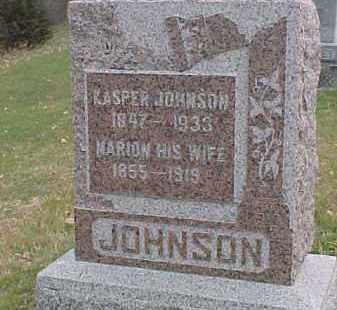 JOHNSON, MARION - Dixon County, Nebraska | MARION JOHNSON - Nebraska Gravestone Photos