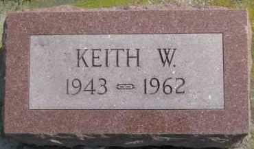 JOHNSON, KEITH W. - Dixon County, Nebraska   KEITH W. JOHNSON - Nebraska Gravestone Photos