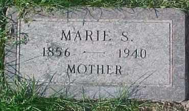JOHNSON, MARIE SOPHIA - Dixon County, Nebraska | MARIE SOPHIA JOHNSON - Nebraska Gravestone Photos