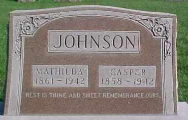 JOHNSON, CASPER - Dixon County, Nebraska | CASPER JOHNSON - Nebraska Gravestone Photos