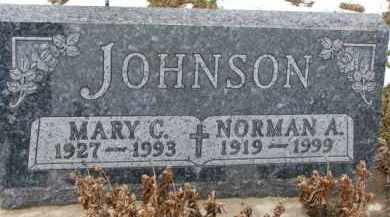 JOHNSON, MARY C. - Dixon County, Nebraska   MARY C. JOHNSON - Nebraska Gravestone Photos