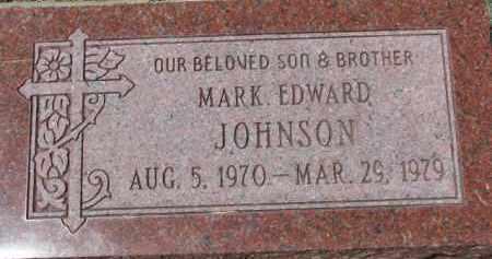 JOHNSON, MARK EDWARD - Dixon County, Nebraska | MARK EDWARD JOHNSON - Nebraska Gravestone Photos