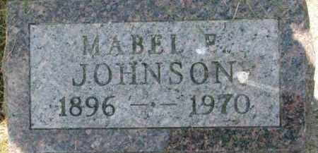 JOHNSON, MABEL P. - Dixon County, Nebraska   MABEL P. JOHNSON - Nebraska Gravestone Photos