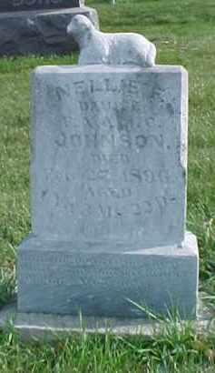 JOHNSON, NELLIE F. - Dixon County, Nebraska | NELLIE F. JOHNSON - Nebraska Gravestone Photos