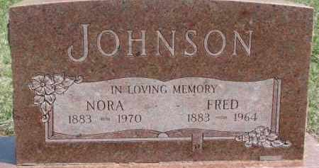 JOHNSON, FRED - Dixon County, Nebraska | FRED JOHNSON - Nebraska Gravestone Photos