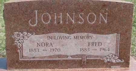 JOHNSON, NORA - Dixon County, Nebraska | NORA JOHNSON - Nebraska Gravestone Photos
