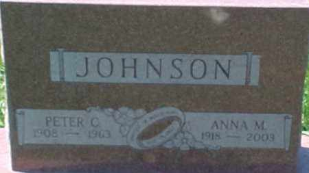 JOHNSON, ANNA M. - Dixon County, Nebraska | ANNA M. JOHNSON - Nebraska Gravestone Photos