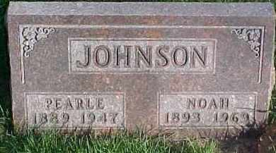 JOHNSON, PEARLE - Dixon County, Nebraska | PEARLE JOHNSON - Nebraska Gravestone Photos