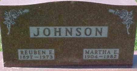 JOHNSON, REUBEN E. - Dixon County, Nebraska | REUBEN E. JOHNSON - Nebraska Gravestone Photos