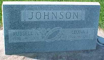 JOHNSON, LEONA I - Dixon County, Nebraska | LEONA I JOHNSON - Nebraska Gravestone Photos