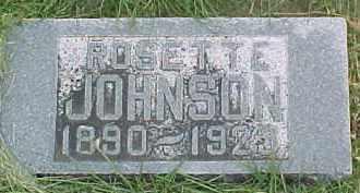 JOHNSON, ROSETTE - Dixon County, Nebraska | ROSETTE JOHNSON - Nebraska Gravestone Photos