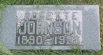JOHNSON, ROSETTE - Dixon County, Nebraska | ROSETTE JOHNSON - Nebraska Gravestone Photos
