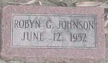 JOHNSON, ROBYN G. - Dixon County, Nebraska | ROBYN G. JOHNSON - Nebraska Gravestone Photos