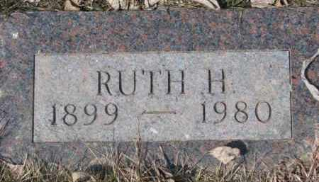 JOHNSON, RUTH H. - Dixon County, Nebraska | RUTH H. JOHNSON - Nebraska Gravestone Photos