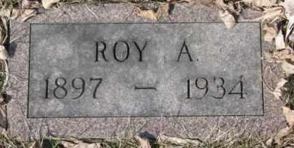 JOHNSON, ROY A. - Dixon County, Nebraska   ROY A. JOHNSON - Nebraska Gravestone Photos